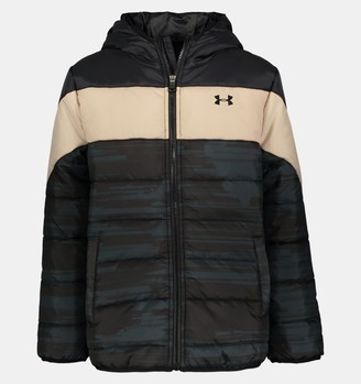 Under Armour Boys' Pre-School UA Pronto Printblock Puffer Jacket