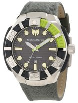 Technomarine Men's 512002 Black Reef Stainless Steel Watch