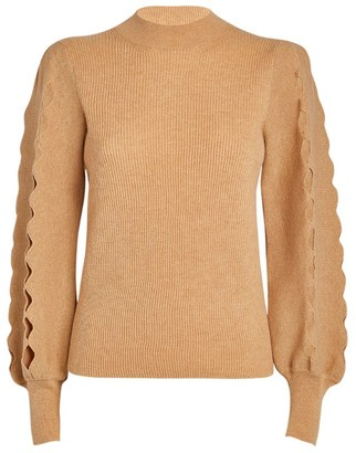Chloé Cut-Out Sweater