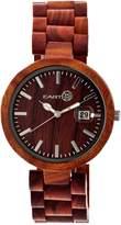 Earth Wood Women's Stomates Quartz Bracelet Watch, 40mm