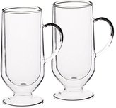 Kitchen Craft Le'Xpress Insulated Double-Walled Latte Glasses, 325 ml (Set of 2)
