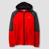 Champion Boys' Tech Fleece Full Zip Hoodie Red