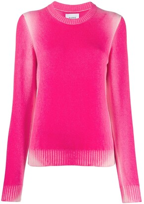 Barrie Faded Round-Neck Jumper