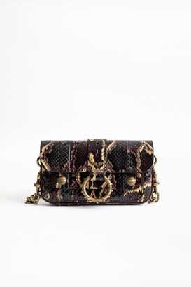 Zadig & Voltaire Kate Wallet Snake Bag