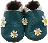 Sayoyo Baby Daisy Soft Sole Leather Infant Toddler Prewalker Shoes(6-12 months, )