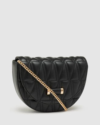 Oxford Ruby Wadded Clutch Bag