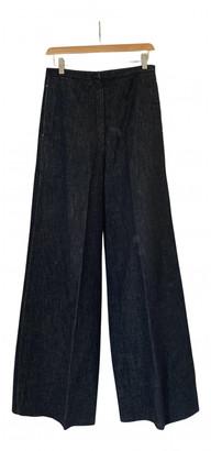 Lemaire Blue Denim - Jeans Trousers