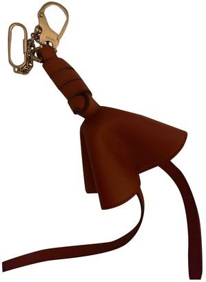 Celine Brown Leather Bag charms