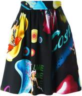Jeremy Scott 'Cosmic Pin-Up Girl' skirt