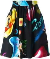 Jeremy Scott 'Cosmic Pin-Up Girl' skirt
