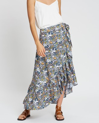 Tigerlily Dalia Wrap Skirt