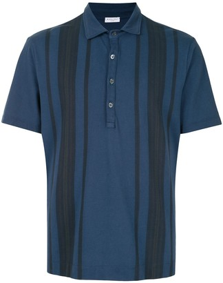 Boglioli Striped Polo Shirt