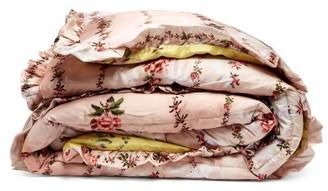 Preen by Thornton Bregazzi King Quilted Floral-print Satin Eiderdown - Womens - Pink