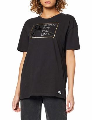 Superdry Women's Mila Oversized Graphic Tee T-Shirt