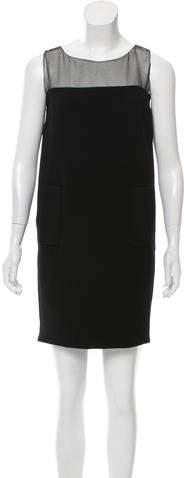 Andrew Gn Wool Mini Dress