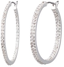 Ralph Lauren Ralph Pave Small Hoop Earrings