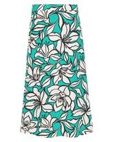 Jaeger Floral Printed A-line Skirt