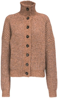 LOULOU STUDIO Canto Wool Knit Cardigan