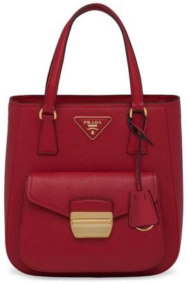 Prada Metropolis Saffiano Leather Top Handle Bag
