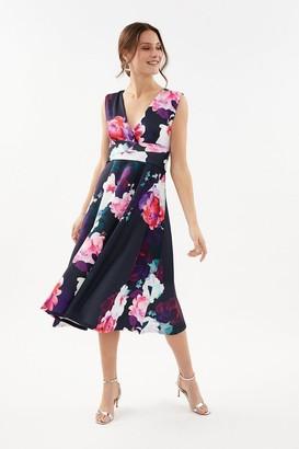 Coast Fit & Flare Scuba Dress