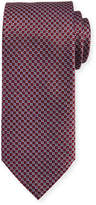Brioni Textured Diamond Neat Silk Tie