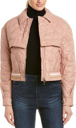 Stella McCartney Quilted Crop Jacket