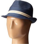 San Diego Hat Company MXF2006 Mixed Braid Fedora Fedora Hats