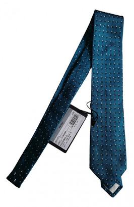 Prada Blue Silk Ties