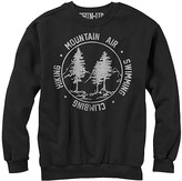 Chin Up Apparel Men's Tee Shirts BLACK - Black 'Mountain Air' Fleece Pullover - Men