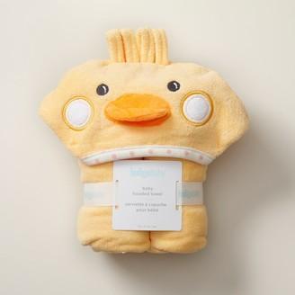 Indigobaby Baby Hooded Towel - Duckling
