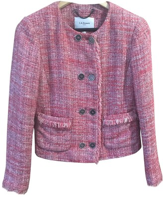 LK Bennett Pink Tweed Jacket for Women