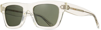 Celine Men's Square Acetate Sunglasses