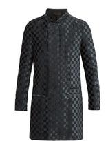 Haider Ackermann Checkered woven coat