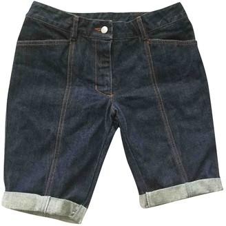 Jean Paul Gaultier Navy Cotton Shorts