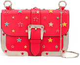 RED Valentino star studded crossbody bag - women - Cotton/Calf Leather/Leather/metal - One Size
