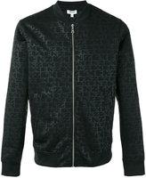 Kenzo logo print bomber jacket - men - Polyamide/Polyester - XS