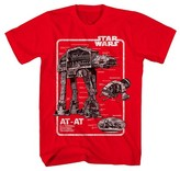 Star Wars Boys' AT-AT Graphic T-Shirt - Red