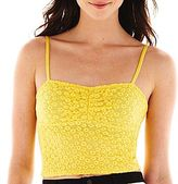 JCPenney Bisou Bisou® Shirred Bustier Top