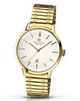 Accurist Gold Plated Expander Bracelet Watch