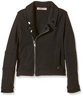DDP Girl's Plain Jacket - Black -