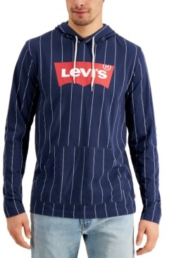 Levi's Men's Jersey Hooded Long Sleeve Tee