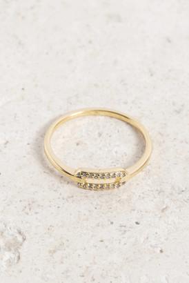 Gorjana Parker Shimmer Ring Gold 6