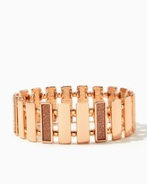 Charming charlie Stardusted Rectangles Stretch Bracelet