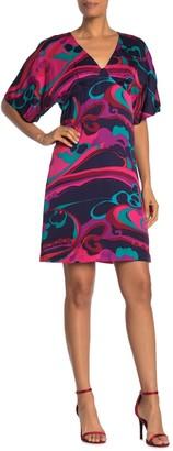 Trina Turk Mary Lou Printed Mini Dress