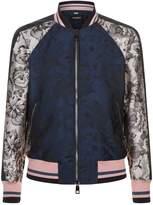 Dolce & Gabbana Jacquard Bomber Jacket