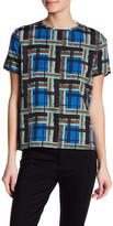 The Kooples Short Sleeve Printed Shirt