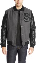 Sean John Men's Varsity Letter Jacket
