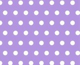 SheetWorld Fitted Pack N Play Sheet - Polka Dots Lavender - Made In USA - 29.5 inches x 42 inches (74.9 cm x 106.7 cm)