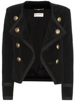 Saint Laurent Cotton velvet jacket