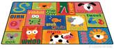 Carpets for Kids Printed Animal Sounds Toddler Area Rug Rug